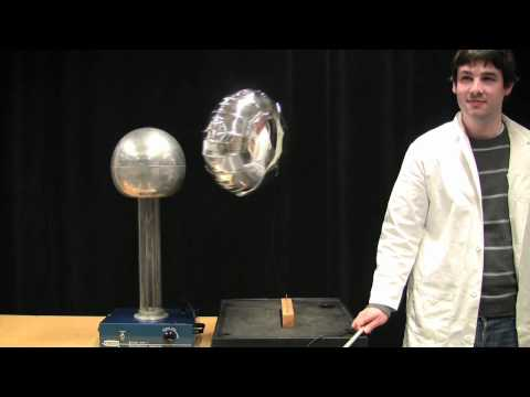 Inducing Dipoles with a Van de Graaff Generator