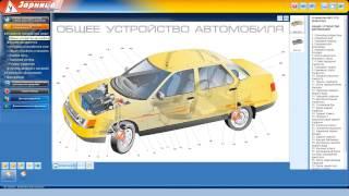 Мультимедийная программа для обучения и подготовки водителей транспортных средств