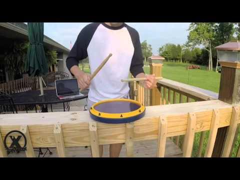BANG BANG | feat. Garret Kimmel | Xymox Percussion Reserve Snare Drum Pad