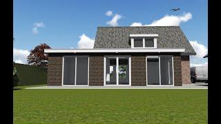 1726 Uitbouw woonhuis Stevensbeek