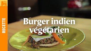 Burger indien végétarien