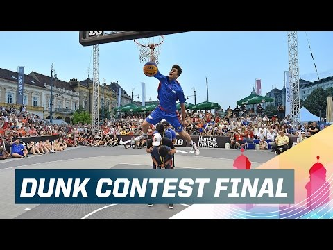 Kobe Paras Wins Dunk Contest - 2015 FIBA 3x3 U18 World Championships