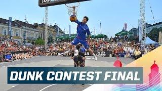 Kobe Paras Wins Dunk Contest - 2015 FIBA 3x3 U18 World Championships