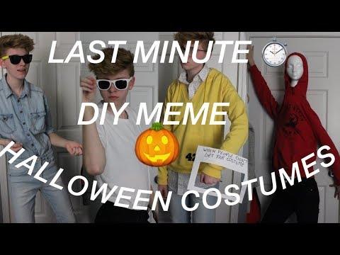 Last-Minute Meme Halloween Costume Ideas