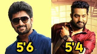 You Won't Believe What The Actual Height Of These Tollywood Actors Is!