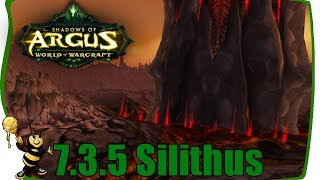 WOW SILITHUS QUESTS Legion 7.3.5 Patch - CINEMATIC HORDE New Faction Questline