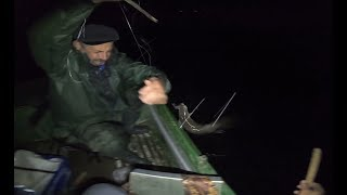 Рыбалка Налим на стук с лодки