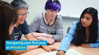 Navigating your first year as a #FirstGen college student