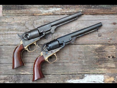 Shooting the 1862 Colt Pocket Navy - original vs repro