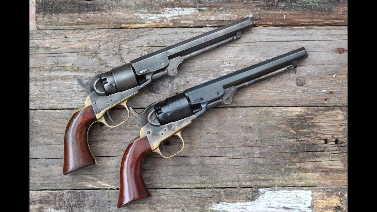 shooting the 1862 colt pocket navy original vs repro youtube