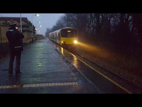 Trains at Kirkham and Wesham Fylde Line 6/1/17