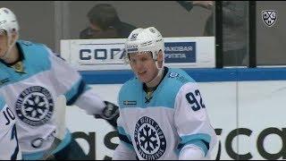Romayev first KHL goal