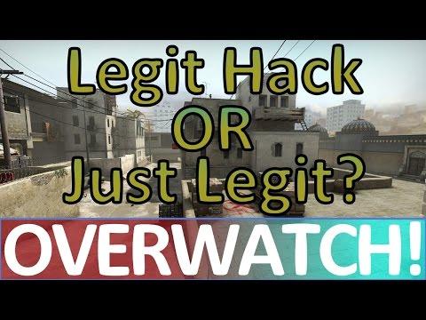 Legit Hack OR Just Legit? CS:GO OVERWATCH!