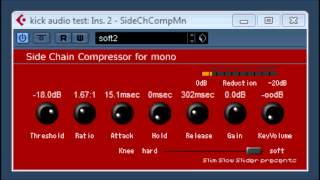 Side Chain Compressor for mono by Slim Slow slider