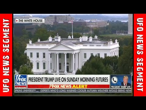 TRUMP UFOs NEWS LIVE • Discusses UFOs in Live Phone Call • FOX NEWS