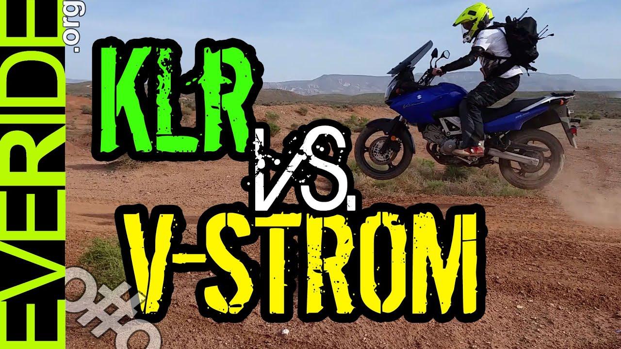 Suzuki V Strom Vs Versys