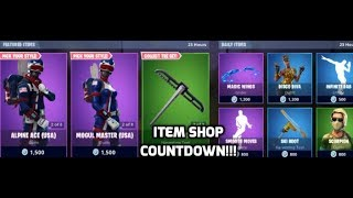 Fortnite Alpine ace And Maven Skins Return! (Item Shop Countdown)