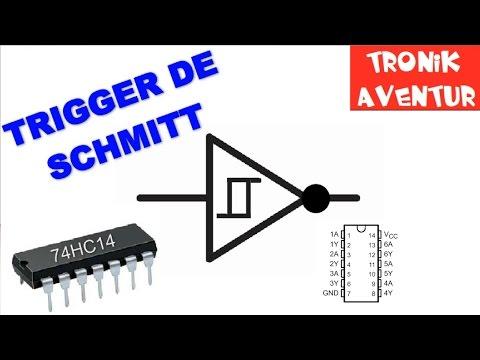 TRONIK AVENTUR 181 - TRIGGER DE SCHMITT 74HC14 - ELECTRONIQUE POUR DEBUTANT