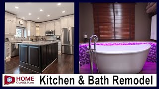 Before & After Home Remodel - Kitchen, Master Bath with Custom Tub, New Mudroom, Hall Bath & More