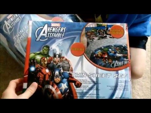 AVENGERS Marvel Twin Set Bedding Review