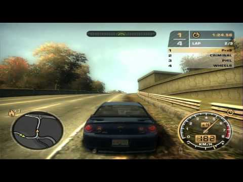 NFS Most Wanted 2005:  BL#15 Chevrolet Cobalt SS - Hickley field