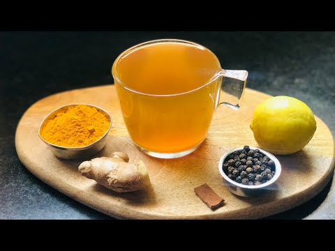 Turmeric Ginger Tea | Immune Boosting Tea | Immunity Boosting Recipe | Natural Cold Remedy