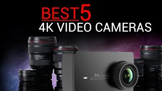 Top 5 best 4k video camera review ...