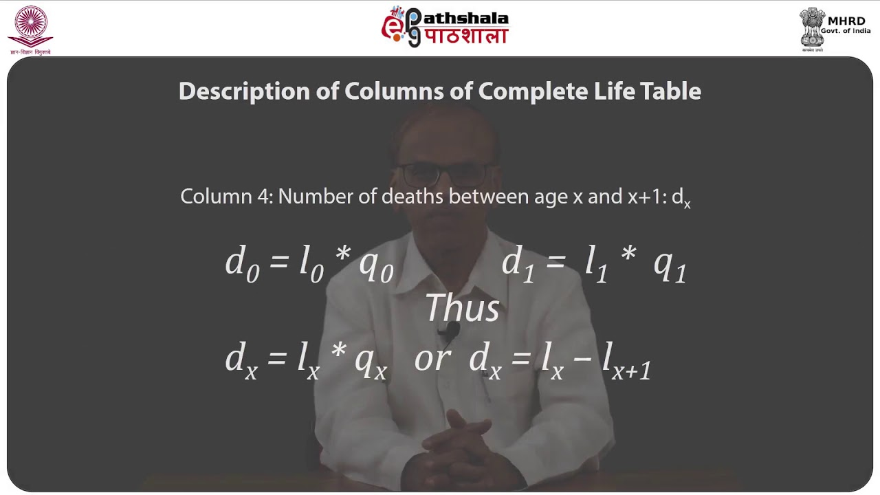 Complete And Abridged Life Tables