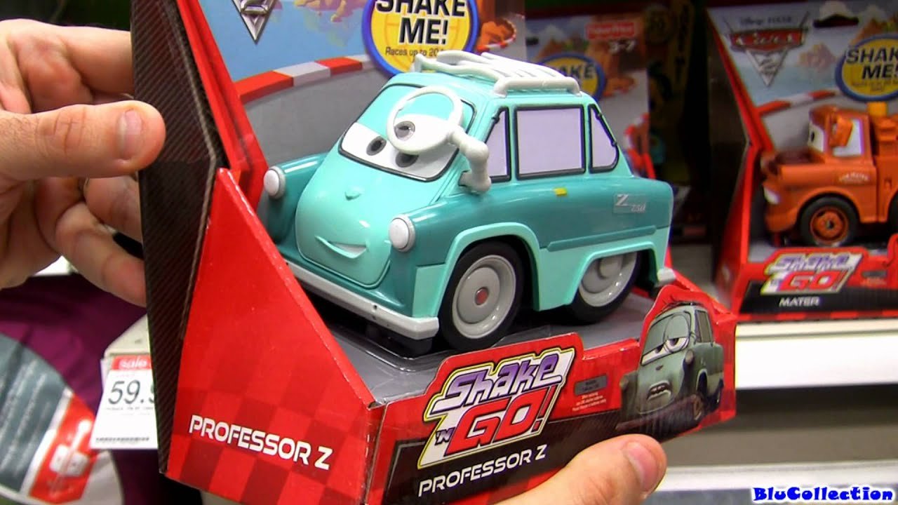 Shake N Go Cars 2 Toys Review Youtube