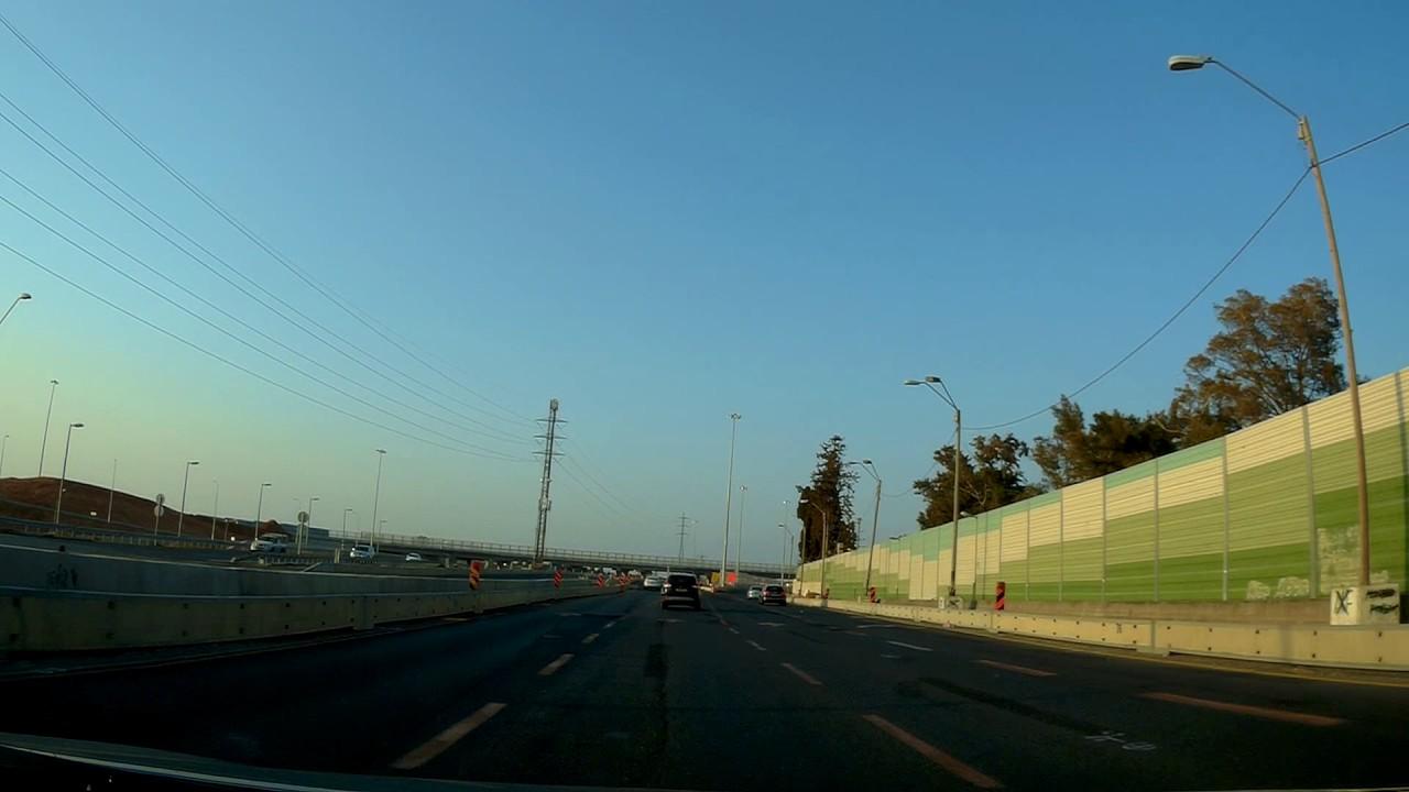 הכפר הירוק כביש 5 נסיעה בכביש 4 עד וואדי מילק כביש 70 רצוף חלק 1 Travel in beautiful Israel ...