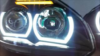 Тюнинг фар, биксеноновые линзы, модули Laser Lights для Lada Priora(RUSSLIGHT - автомобильная оптика, тюнинг автомобильной оптики. http://vk.com/revolight http://vk.com/russlights Фары Laser Lights для Lada Priora., 2014-11-11T09:45:28.000Z)