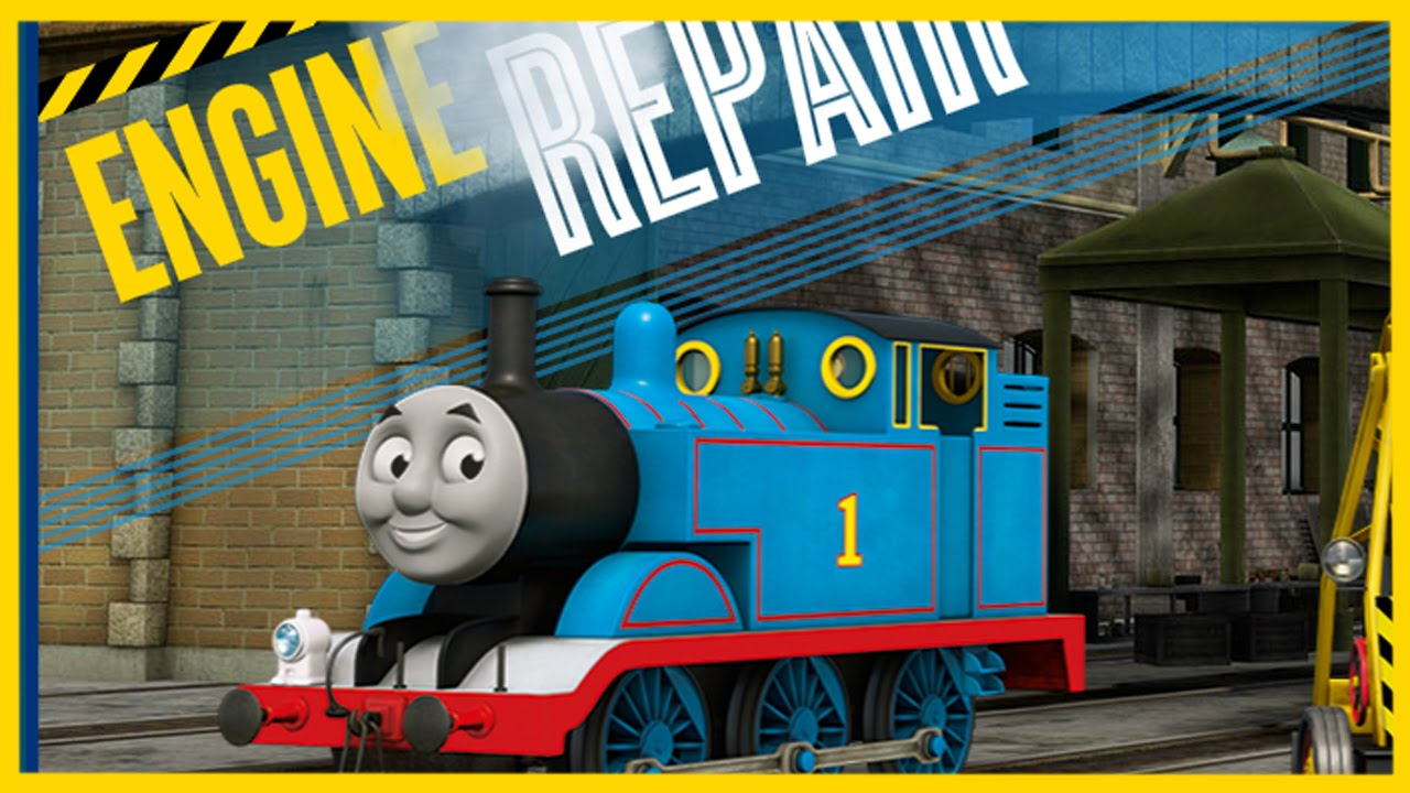 Thomas and Friends Engine Repair - Games for Kids 2020 #4 ...