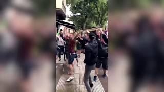 ENGLAND FANS IN SPAIN - Chants, Fights and more!