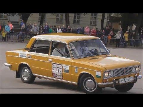 ВАЗ 2103, авторалли на классических автомобилях