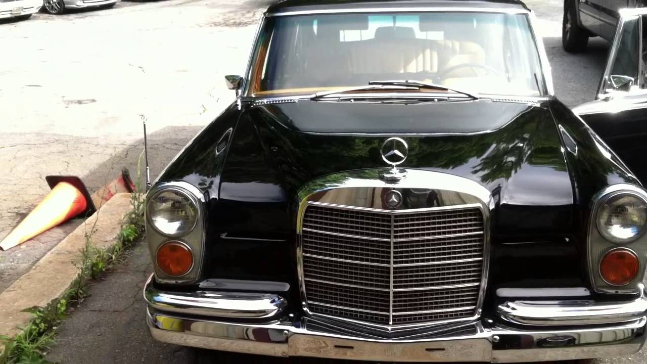 1977 Mercedes Benz Pullman LWB Bokassa - YouTube