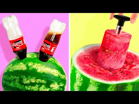 32 WATERMELON IDEAS | FOOD DECOR HACKS TO ROCK THIS SUMMER!