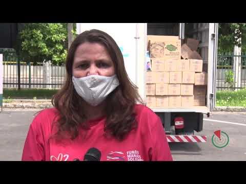 Prefeitura De Manaus Recebe Doações De Empresas Locais Para O Combate Da Covid 19