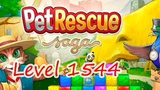 Pet Rescue Saga Level 1544 (NO BOOSTERS)