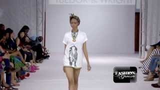 [HD] Tuedor & Wright @ Ghana Fashion & Design Week 2013 / Day 2 - Ready To Wear