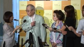 東北楽天 野村名誉監督・沙知代夫人 9/7緊急会見 後編