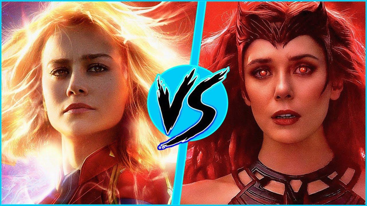 Download Scarlet Witch (MCU) VS Captain Marvel (MCU) | BATTLE ARENA | WandaVision | DanCo VS