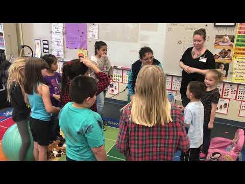 ASL club at Coyote Springs Elementary School