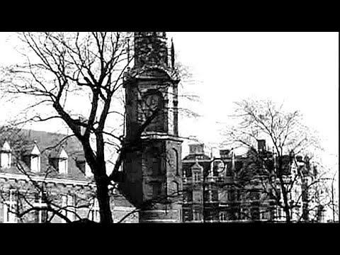 1959: De bouw van een nieuwe spaarbank aan het Muntplein te Amsterdam - oude filmbeelden