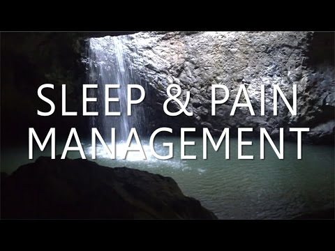 Sleep Hypnosis for Pain Management with Relaxing Binaural Mu