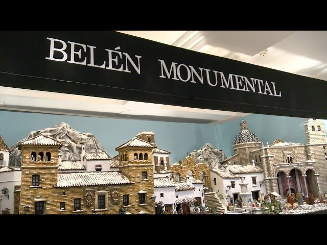 Inauguración del Belén Monumental de Cartaya