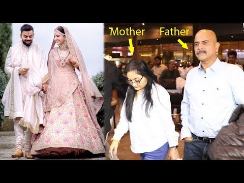 Anushka Sharma's Family Returns To Mumbai After GRAND Wedding Ceremony Of Virat & Anushka In Italy