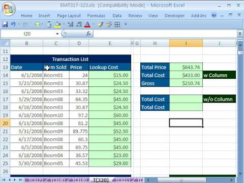 Excel Magic Trick Lookup Adding Sumproduct Sumif