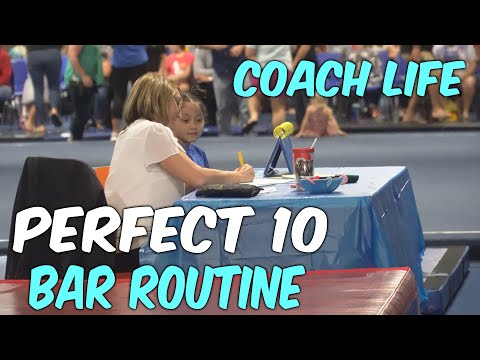 Coach Life: Perfect 10 Bar Routine!?| Rachel Marie