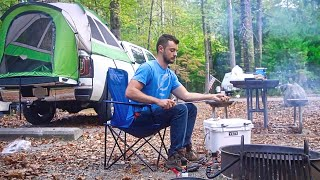 Solo Camping The Gręat Smoky Mountains: Wildlife Encounters [Ep. 3]