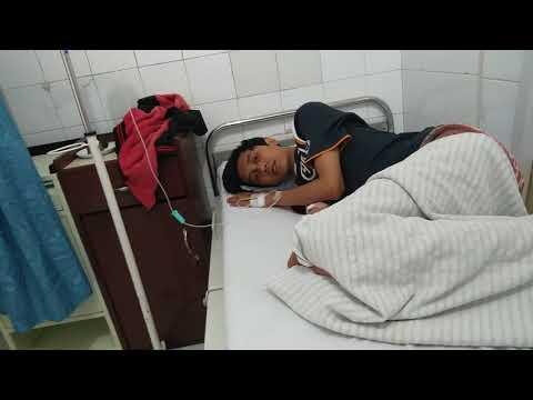 deka abdi wiguna, korban miras oplosan warga Jalan Cagar Alam, Panmas, Depok, di RS Harapan, R